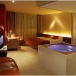 Habitacion con Jacuzzi Hotel Diagonal Zero Barcelona