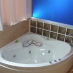 Jacuzzi del la habitacion Suite