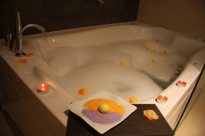 Jacuzzi de la Suite Junior