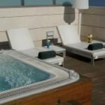 Jacuzzi del hotel Neptuno