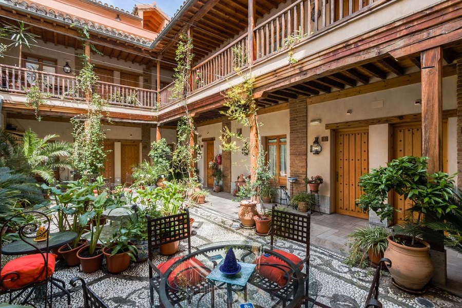 Suites con jacuzzi en el hotel Abadia de Granada