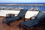 Terraza del hotel Posada del Mar